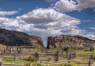 Devils Gate Wyoming