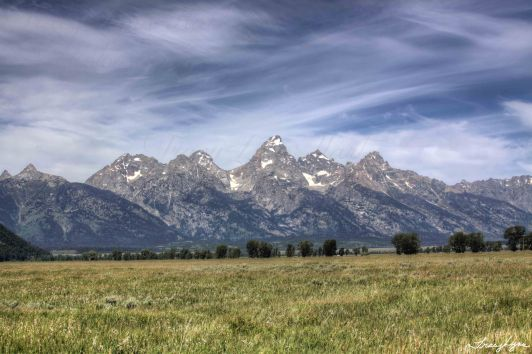 Grand Tetons Wyoming