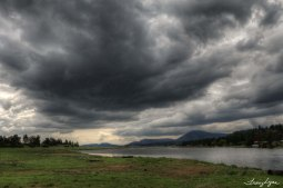 Stormy Skies over Klamath River