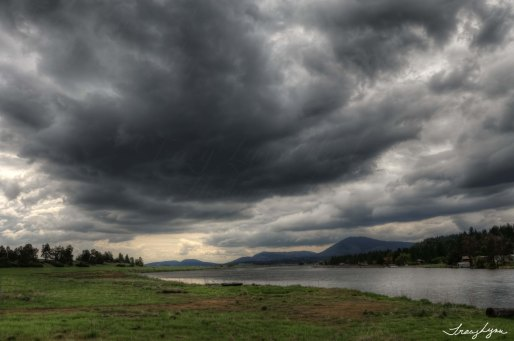 Stormy Skies over Klamath River