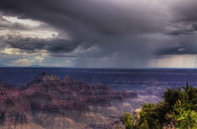 Summer Storm North Rim Grand Canyon