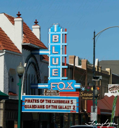 Bllue Fox Theatre