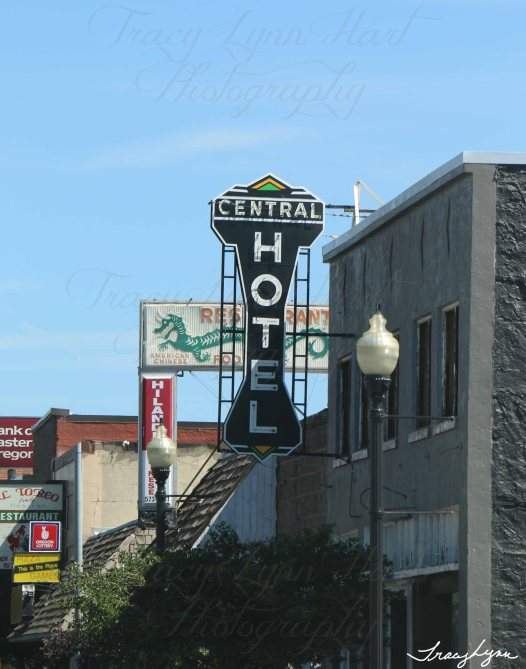 Central Hotel in Oregon
