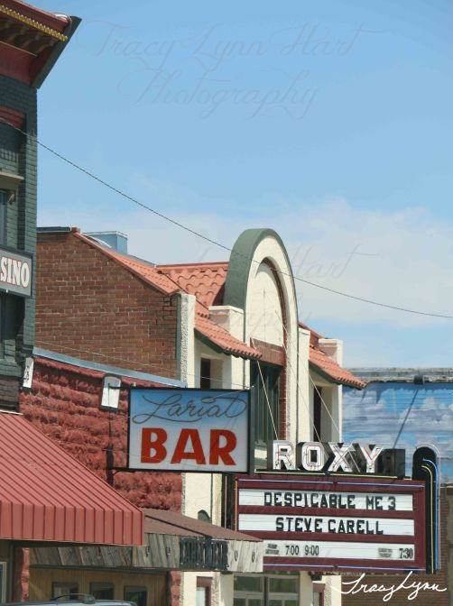 Lariat Bar Roxy Theatre Montana