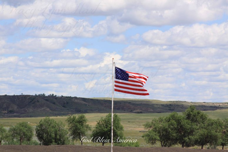 Flag in Glendive copy