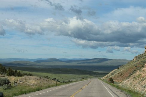 road to bannack